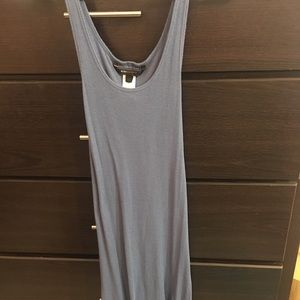 Bcbg Blue ribbed tank dress super soft! Xs